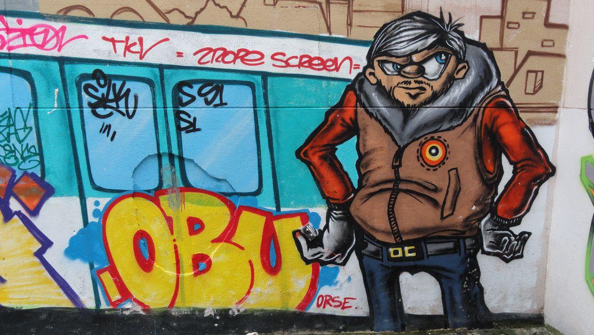Street Art : Graffitis & Fresques Murales Département Seine Saint Denis (93)