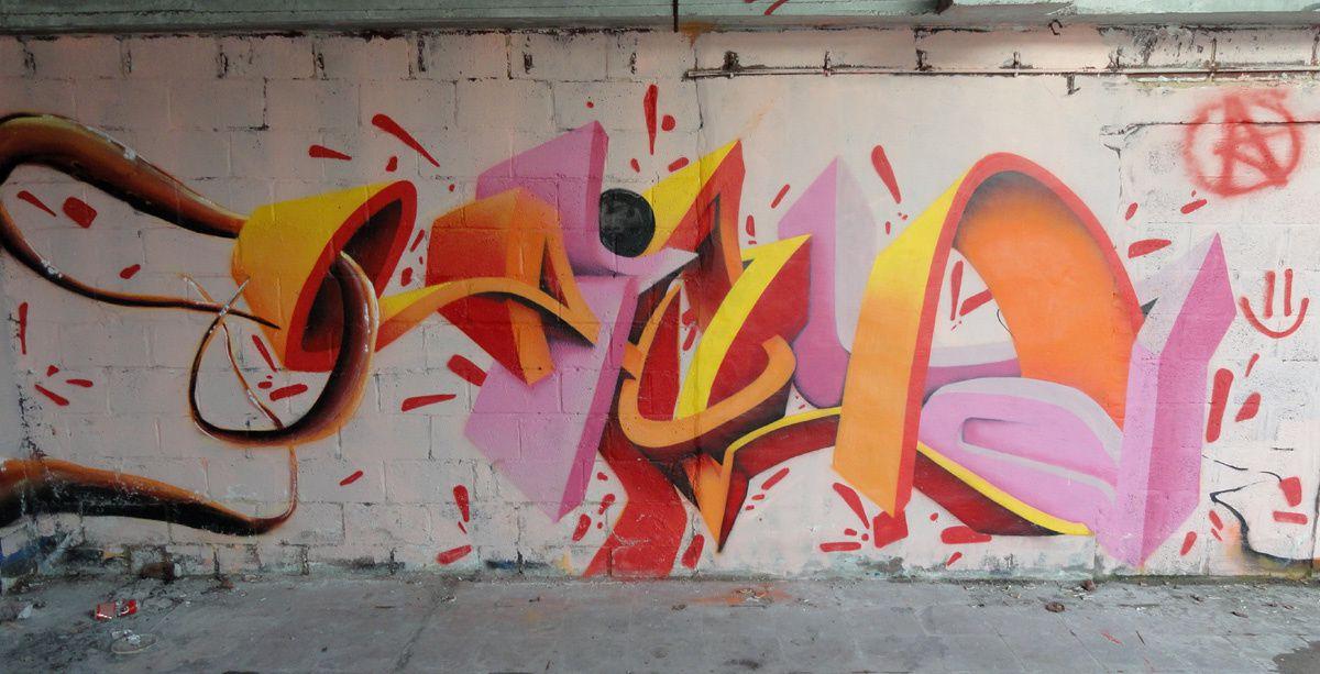 Street Art : Graffitis &amp&#x3B; Fresques Murales 8501 Kortrijk
