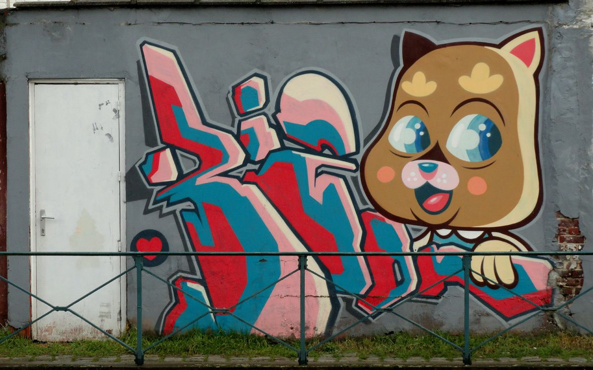Album - Graffitis Belgique Tom 006