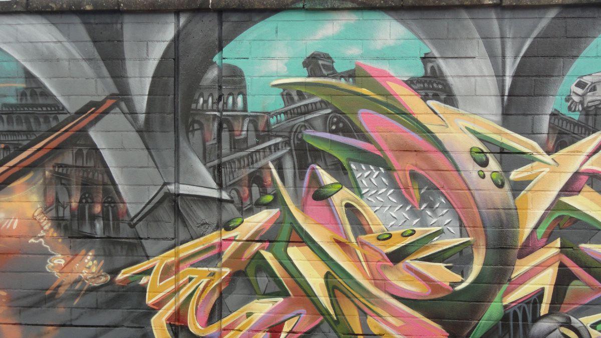 Street Art : Graffitis &amp&#x3B; Fresques Murales 9000 Gent