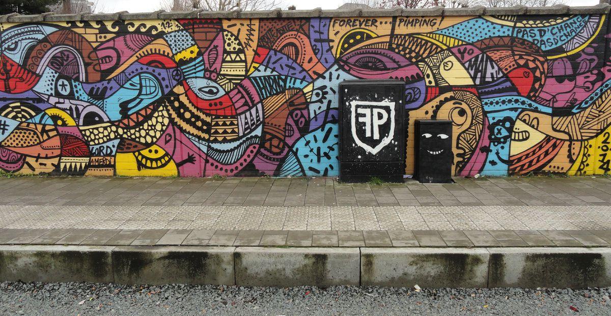 Street Art : Graffitis & Fresques Murales 9000 Gent