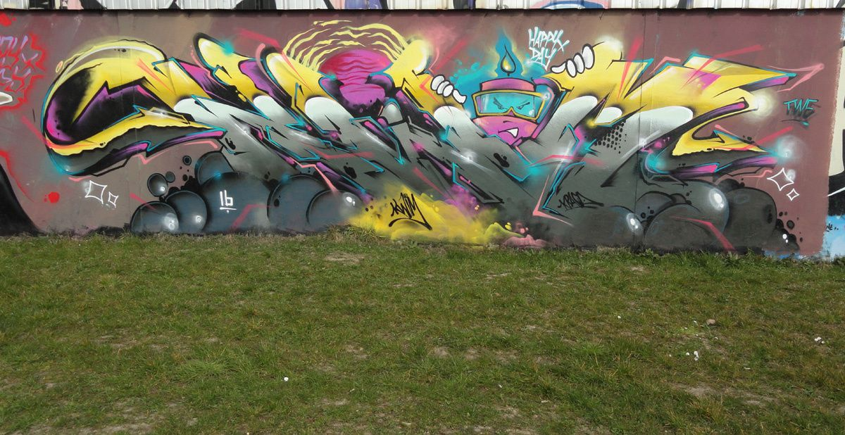 Street Art : Graffitis &amp&#x3B; Fresques Murales 93010 Bondy