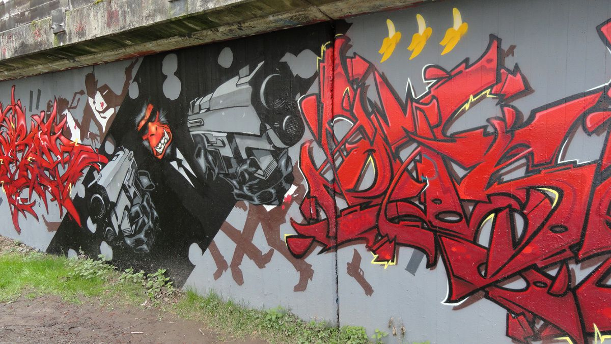 Album - Graffitis Allemagne Tom 002