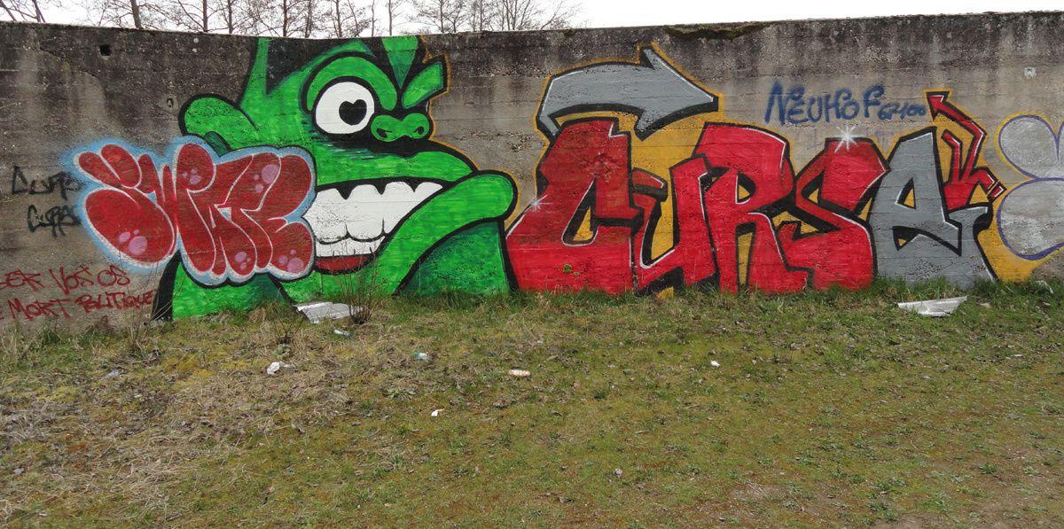 Street Art : Graffitis & Fresques Murales Département du Bas Rhin (67)