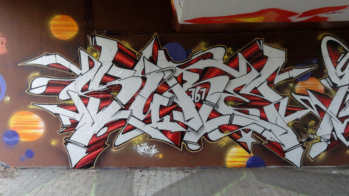 Street Art : Graffitis & Fresques Murales 76131 Karlsruhe