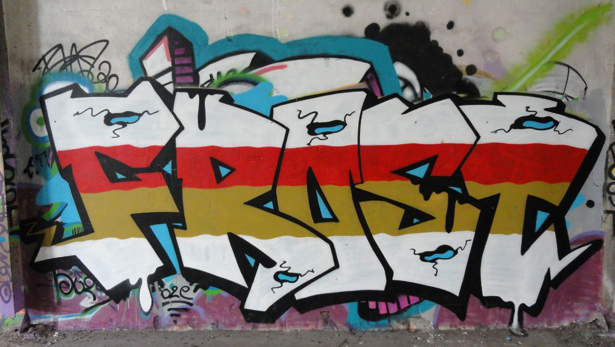 Street Art : Graffitis & Fresques Murales 76450 Rouen