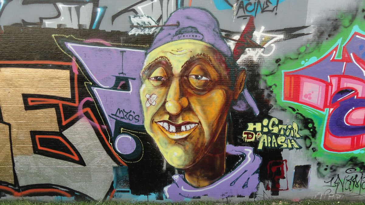 Street Art : Graffitis &amp&#x3B; Fresques Murales 75015 Paris