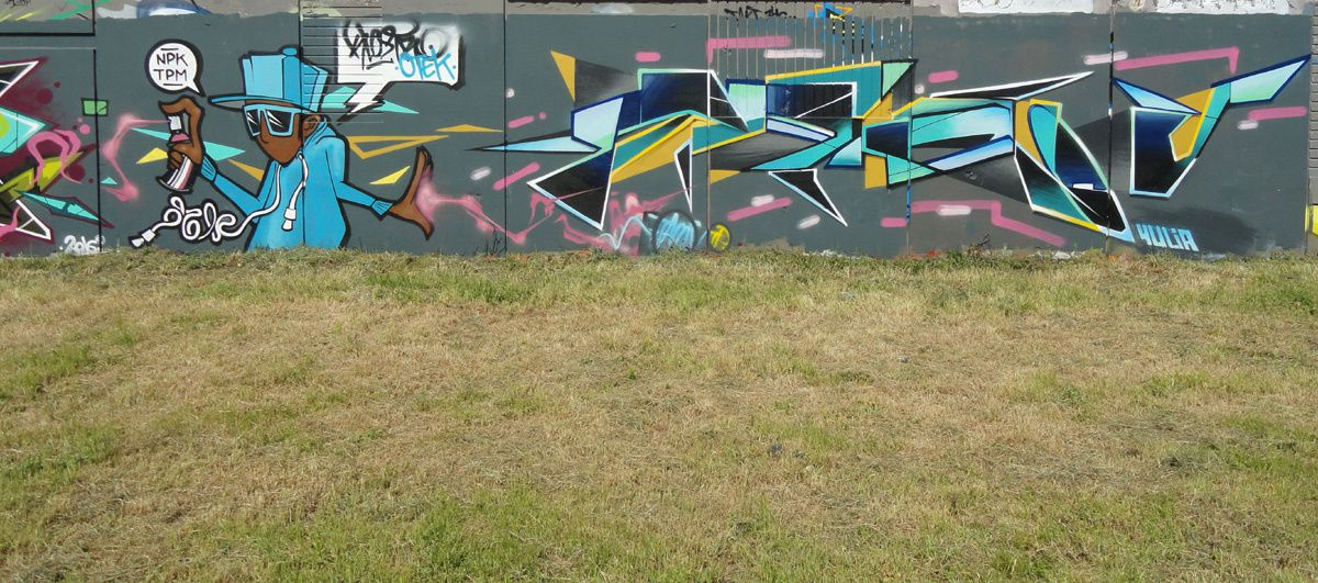 Album - Graffitis Vitry sur Seine Tom 009