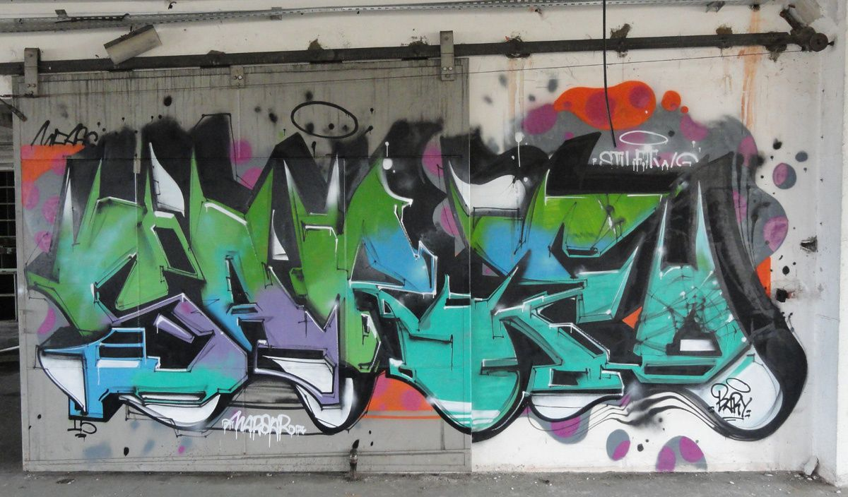 Graffitis Dept 18 tome 001