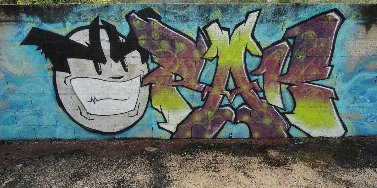 Street Art : Graffitis &amp&#x3B; Fresques Murales Département Oise (60)