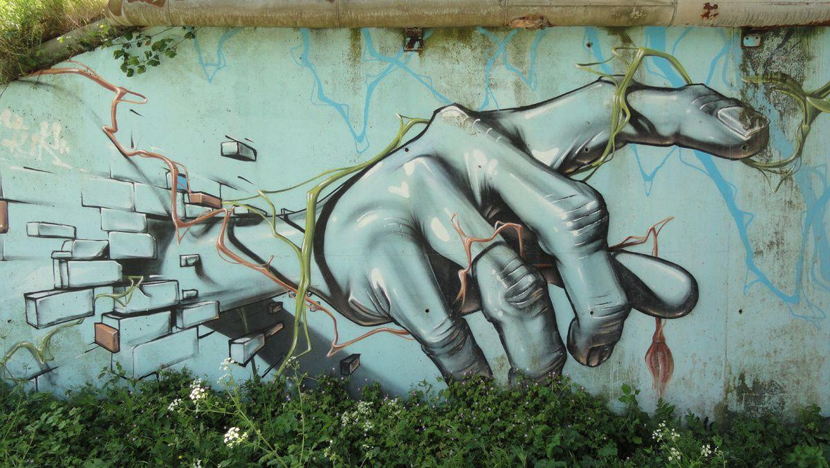 Street Art : Graffitis & Fresques Murales 76657 Saint Vigor d'Ymonville