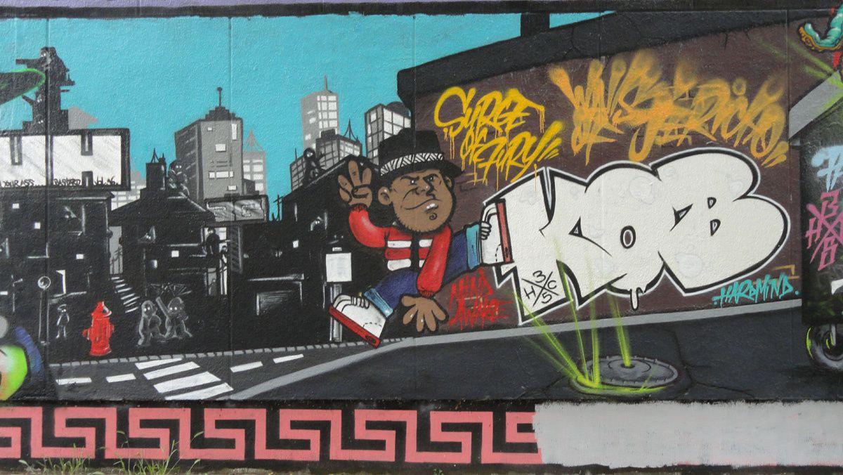 Street Art : Graffitis &amp&#x3B; Fresques Murales 35238 Rennes