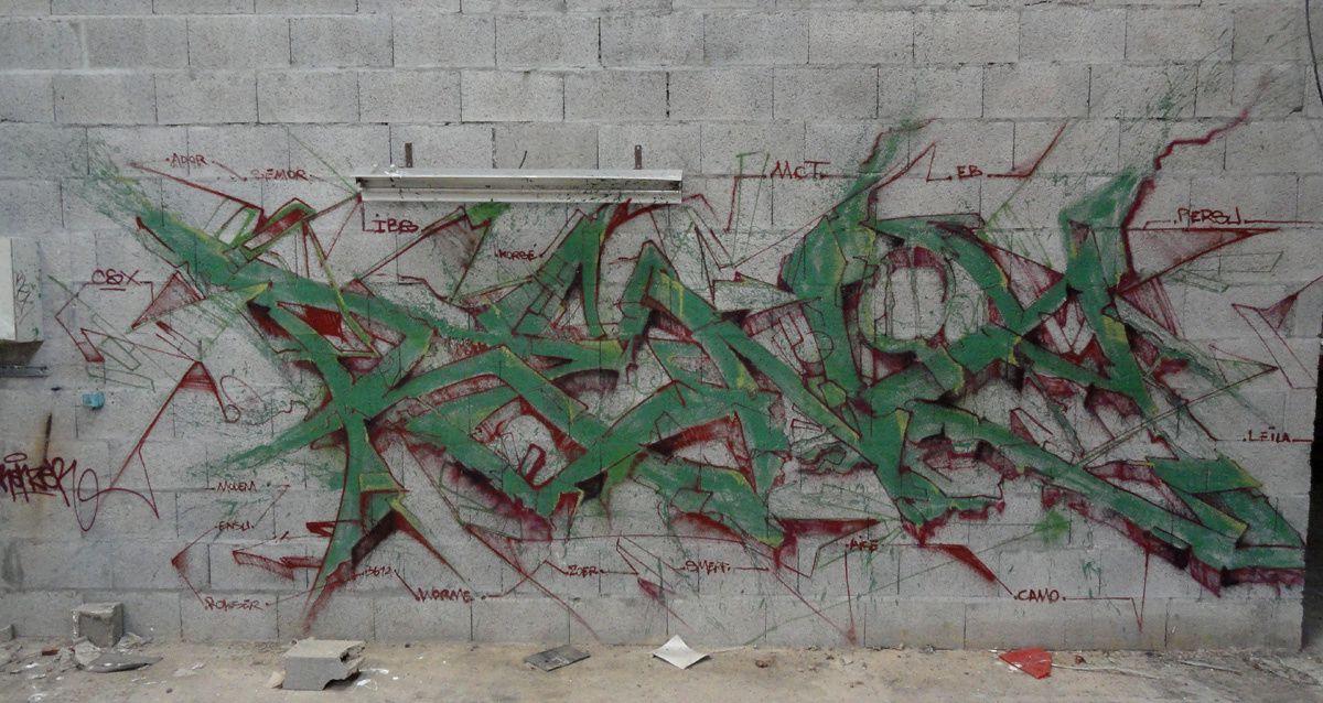 Street Art : Graffitis &amp&#x3B; Fresques Murales Département Loire Atlantique (44)