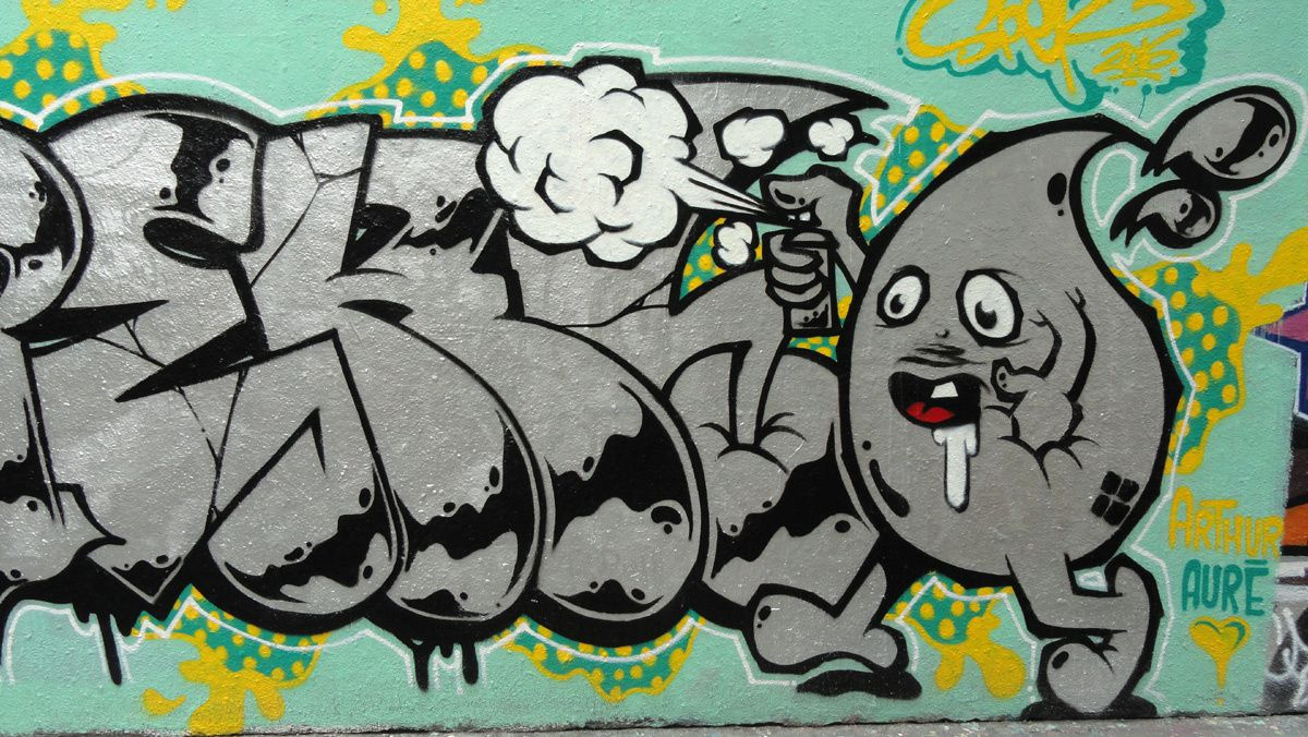 Album - Graffitis Paris Tom 053