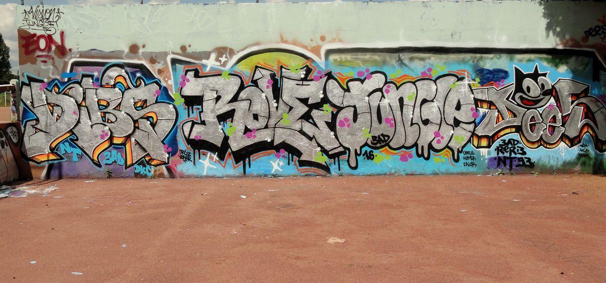Street Art : Graffitis &amp&#x3B; Fresques Murales 77083 Champs sur marne
