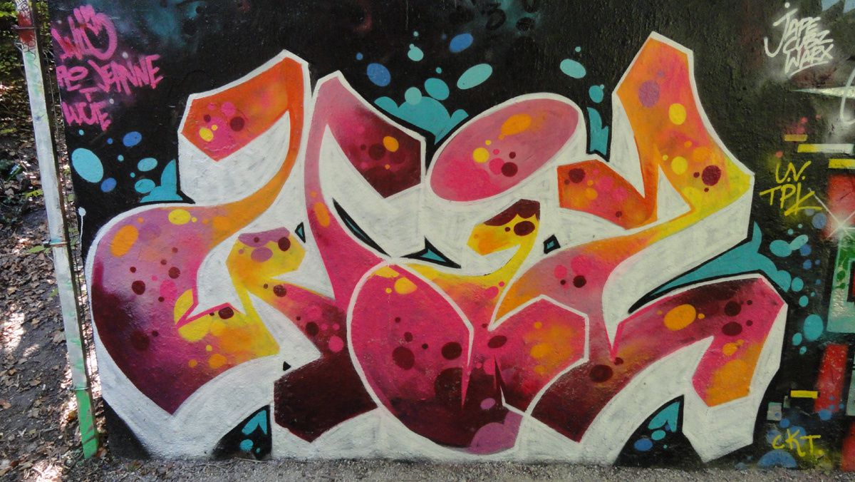 Street Art : Graffitis &amp&#x3B; Fresques Murales 92009 Bois Colombes