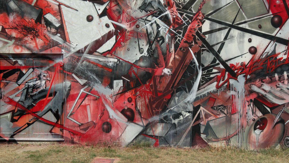 Street Art : Graffitis &amp&#x3B; Fresques Murales 33162 Eysines