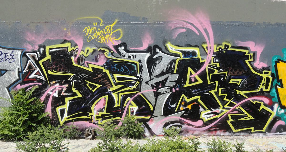 Album - Graffitis Dept 34 Tom 001