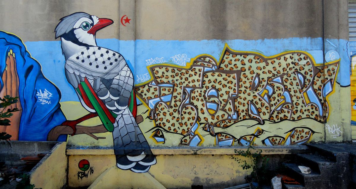 Street Art : Graffitis &amp&#x3B; Fresques Murales 33000 Bordeaux