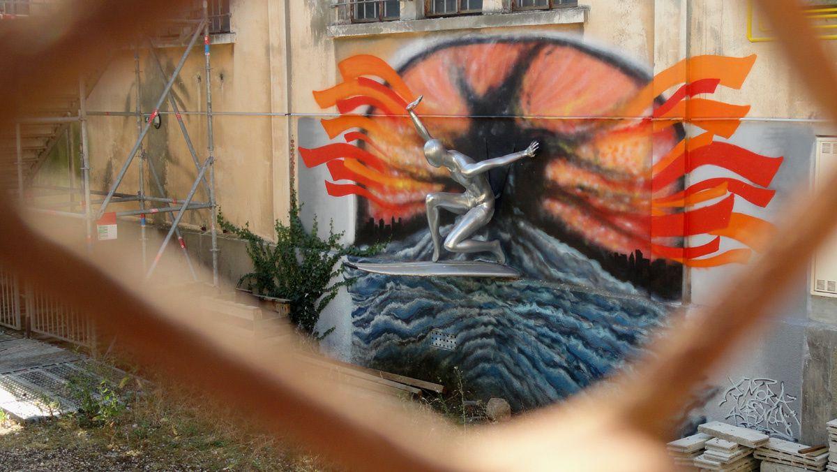 Street Art : Graffitis & Fresques Murales 33039 Begles
