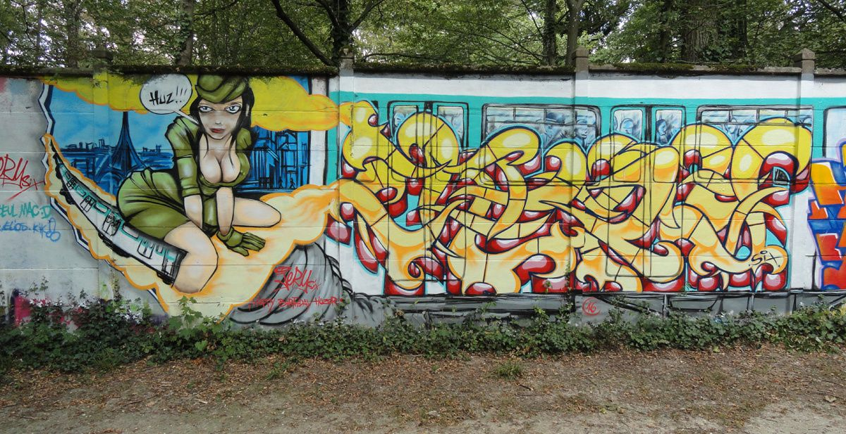 Street Art : Graffitis &amp&#x3B; Fresques Murales 91201 Draveil