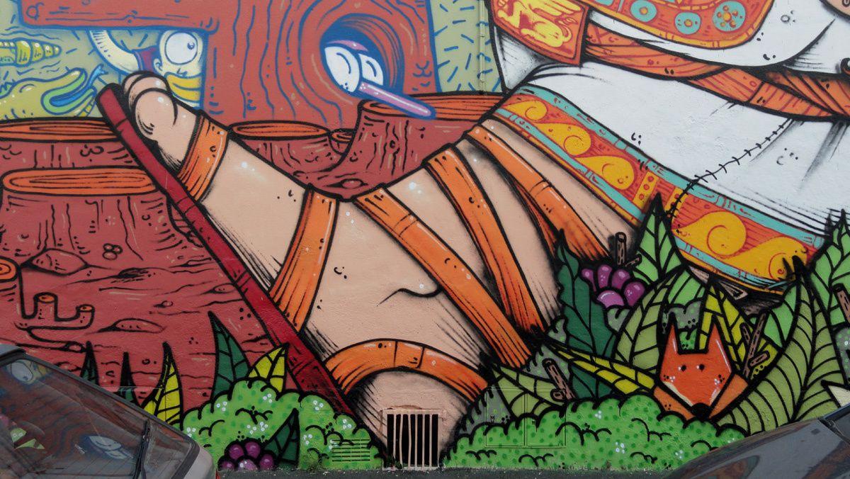 Street Art : Graffitis &amp&#x3B; Fresques Murales 31000 Toulouse
