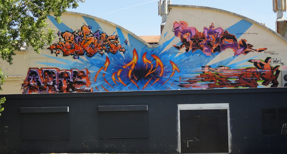 Album - Graffitis Toulouse Tom 007