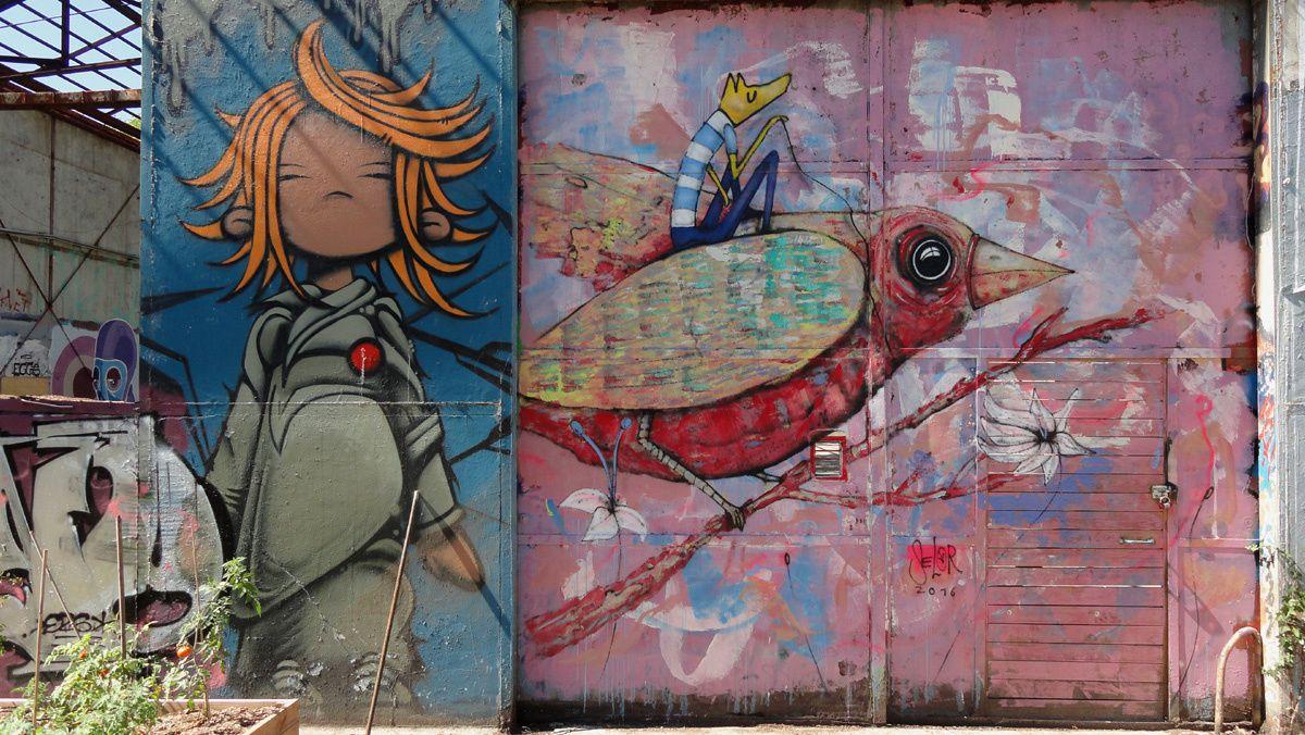 Street Art : Graffitis &amp&#x3B; Fresques Murales 33000 Bordeaux