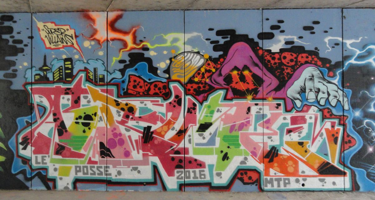 Street Art : Graffitis &amp&#x3B; Fresques Murales 34172 Montpellier