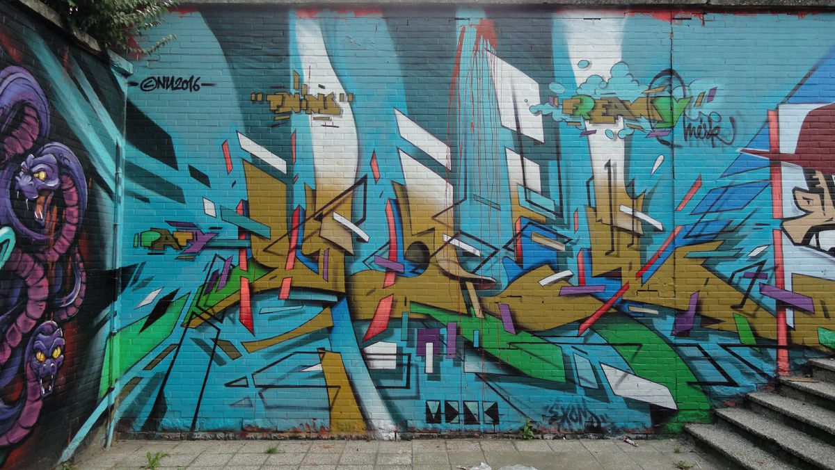 Album - Graffitis Belgique Tom 009
