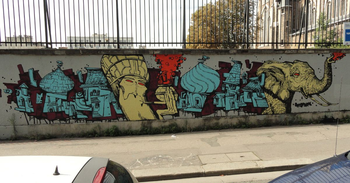 Album - Graffitis Paris Tom 054