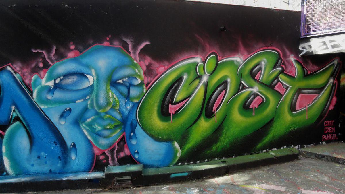 Street Art : Graffitis &amp&#x3B; Fresques Murales 75020 Paris