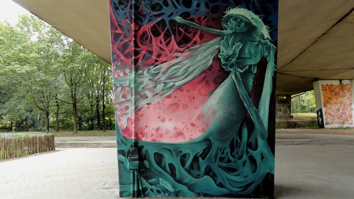 Street Art : Graffitis &amp&#x3B; Fresques Murales 1070 Anderlecht (Belgique)