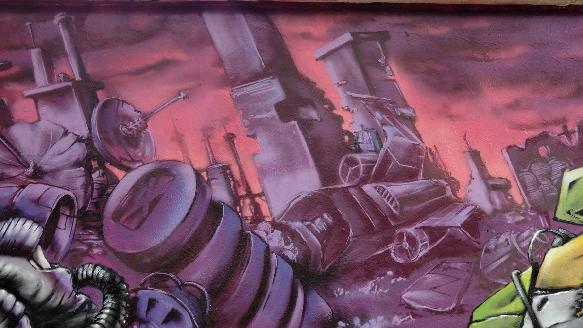 Street Art : Graffitis & Fresques Murales 75012 Paris