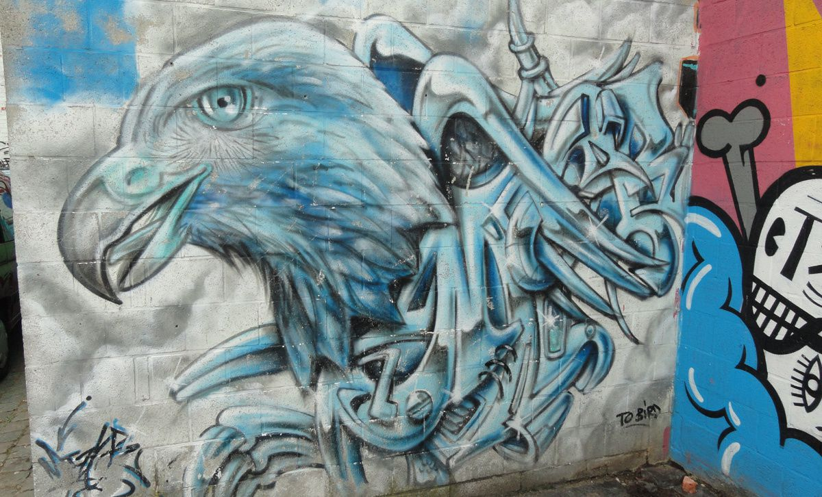 Street Art : Graffitis & Fresques Murales 2000 Antwerpen (Anvers)(Belgique)