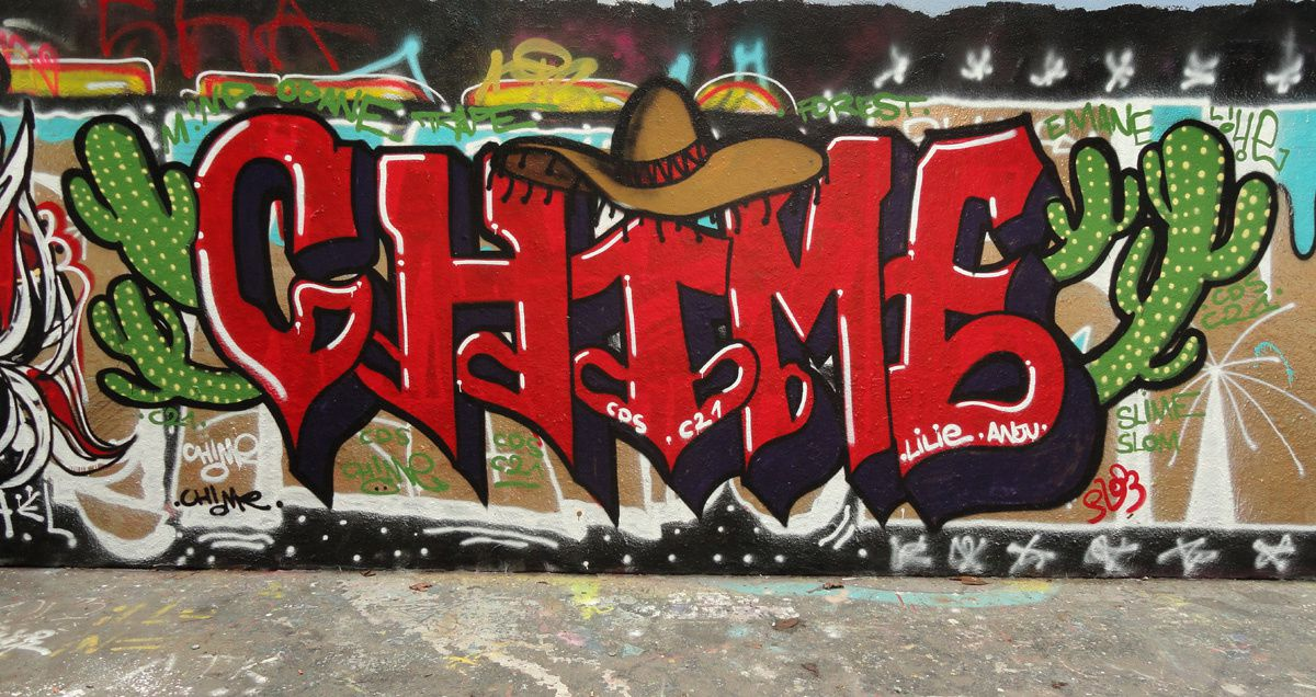Street Art : Graffitis &amp&#x3B; Fresques Murales 75018 &amp&#x3B; 75019 Paris
