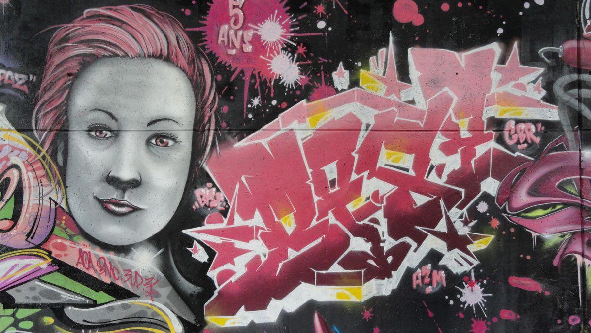 Street Art : Graffitis &amp&#x3B; Fresques Murales 37261 Tours