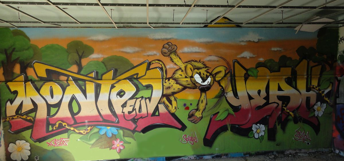 Album - Graffitis Dept 30 Tom 001