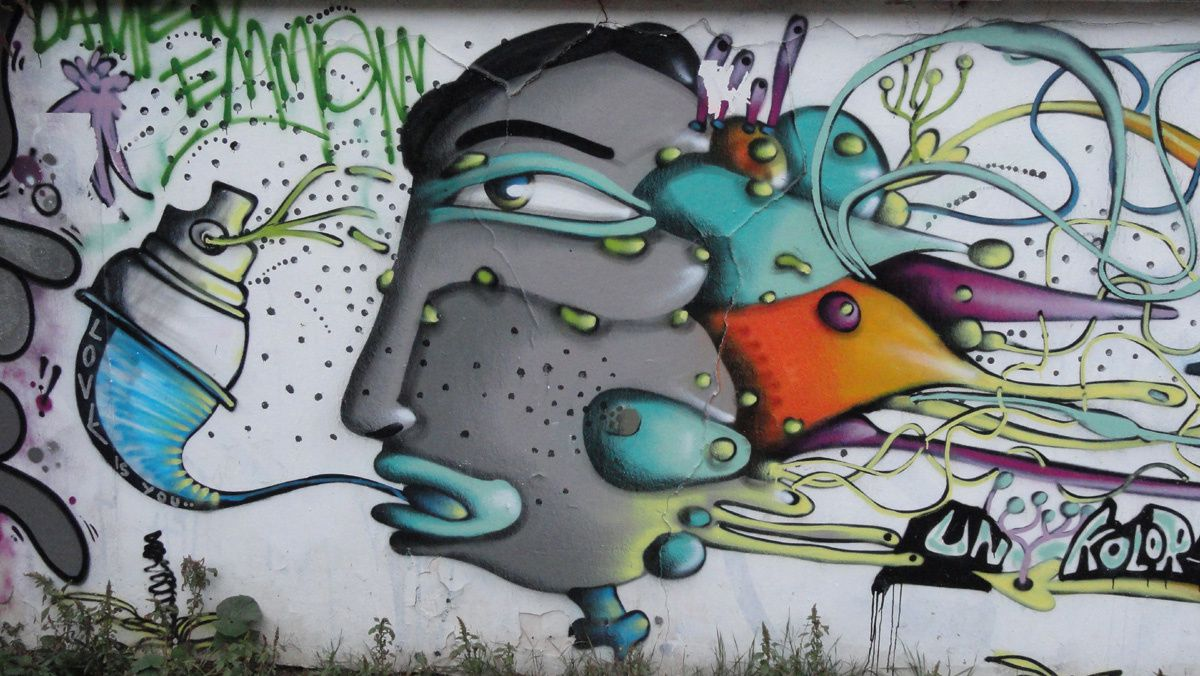 Street Art : Graffitis &amp&#x3B; Fresques Murales 75014 Paris