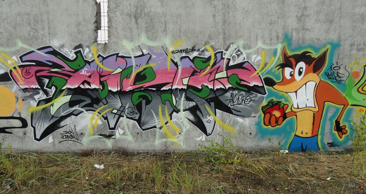 Street Art : Graffitis &amp&#x3B; Fresques Murales 62215 Carvin