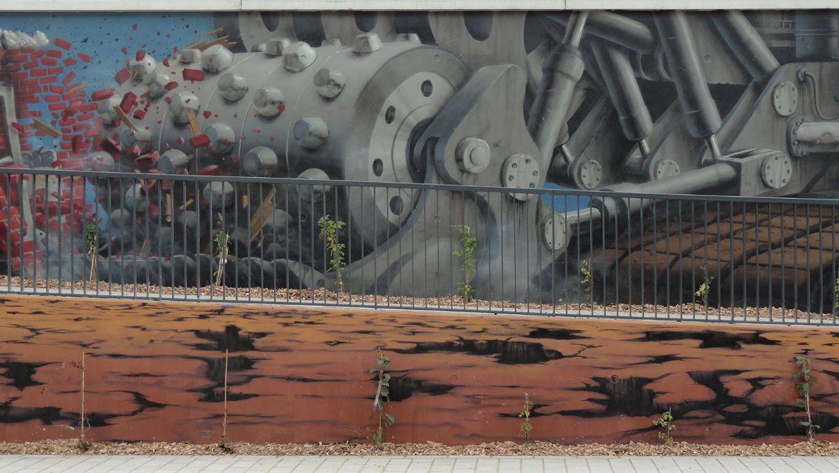 Street Art : Graffitis &amp&#x3B; Fresques Murales 59512 Roubaix