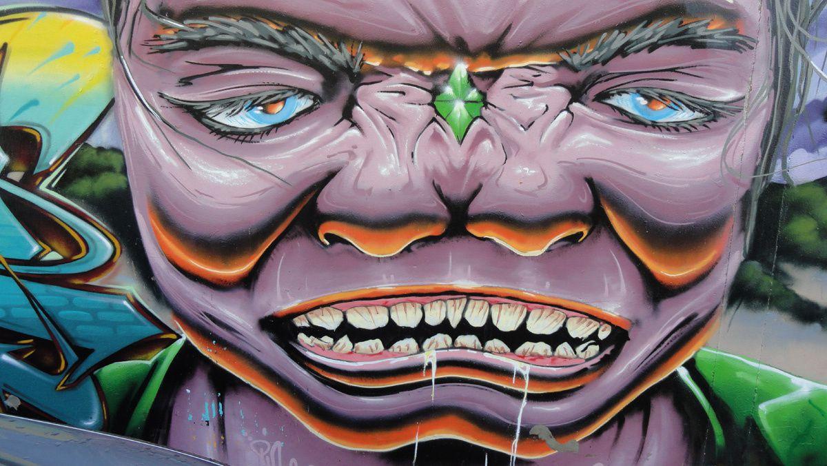 Street Art : Graffitis &amp&#x3B; Fresques Murales 62445 Oyé-Plage