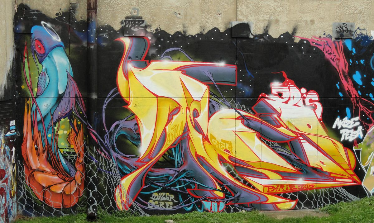 Street Art : Graffitis &amp&#x3B; Fresques Murales 92025 Colombes