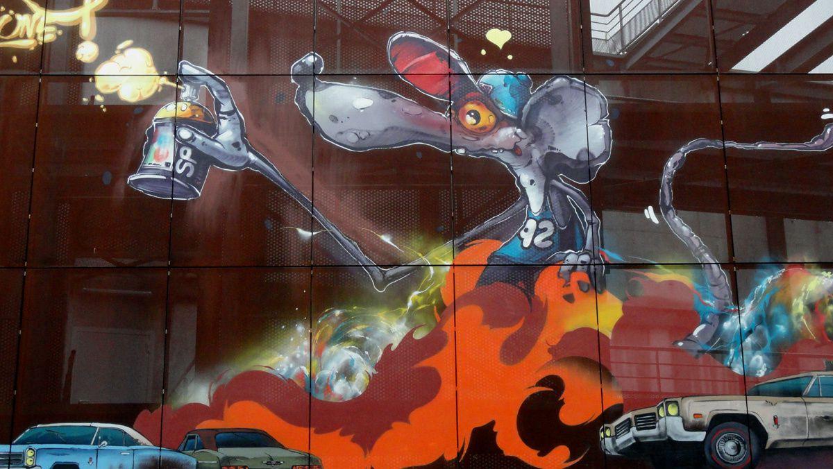 Street Art : Graffitis &amp&#x3B; Fresques Murales 59000 Lille