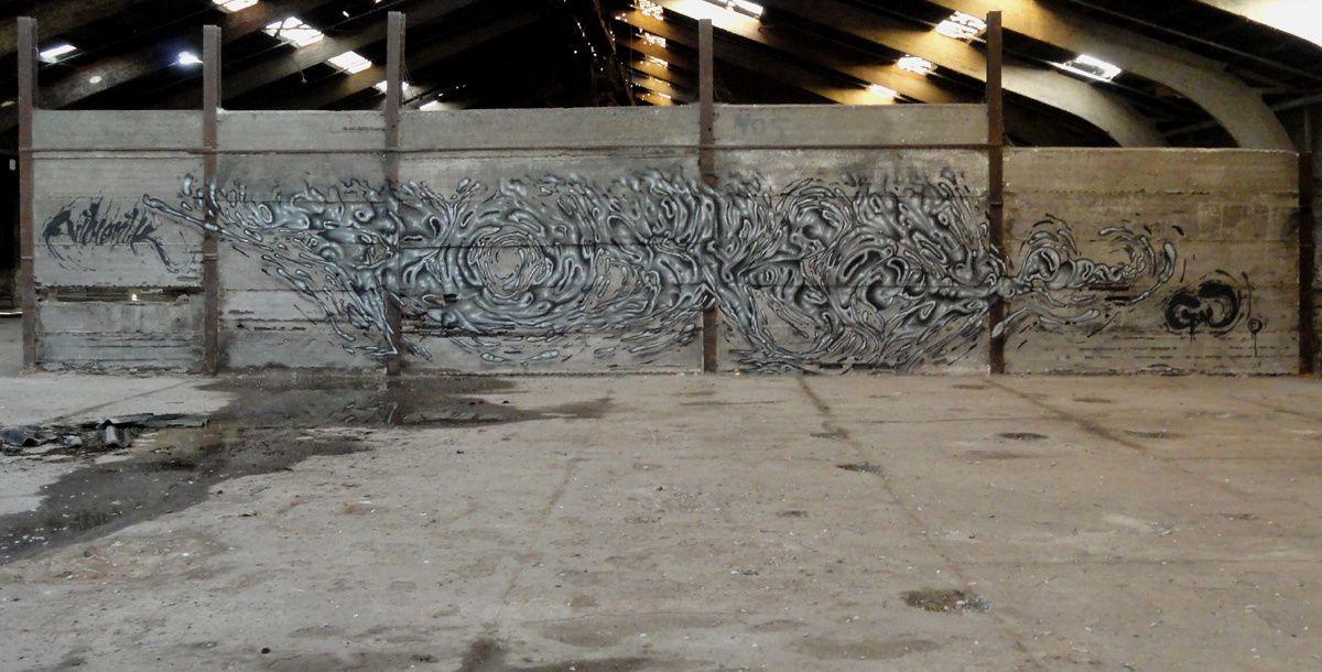 Street Art : Graffitis &amp&#x3B; Fresques Murales 7022 Mons (Belgique)