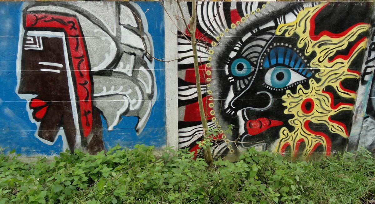 Street Art : Graffitis &amp&#x3B; Fresques Murales 91589 Savigny sur Orge