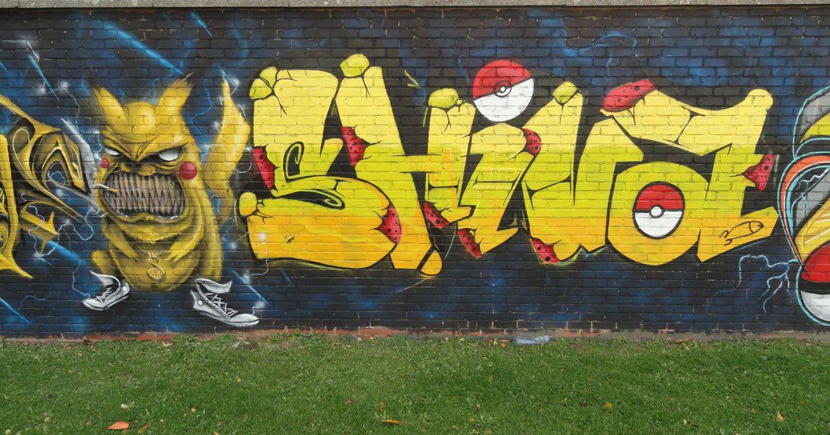 Street Art : Graffitis &amp&#x3B; Fresques Murales 6240 Farciennes (Belgique)