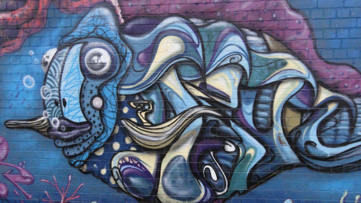 Street Art : Graffitis &amp&#x3B; Fresques Murales 6043 Charleroi (Belgique)