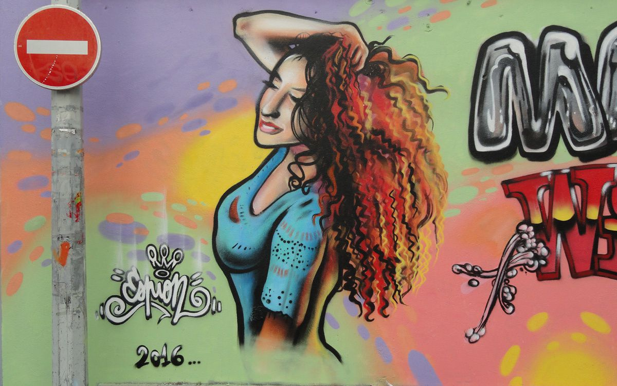 Street Art : Graffitis &amp&#x3B; Fresques Murales 93048 Montreuil