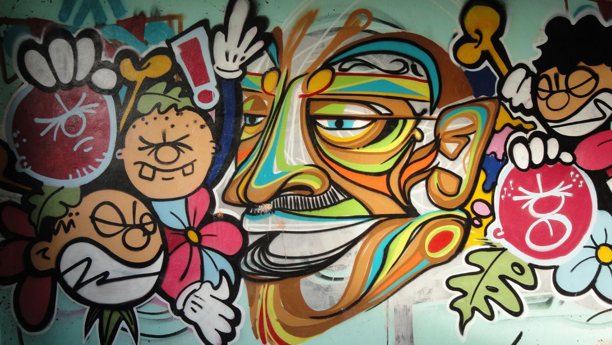 Street Art : Graffitis &amp&#x3B; Fresques Murales 95271 Genicourt